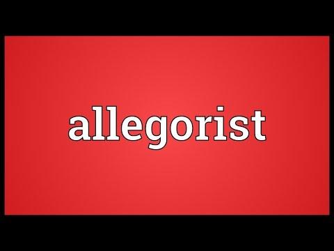 Header of allegorist