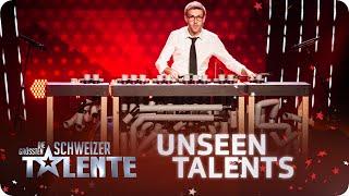 Dom H musiziert auf den Rimba Tubes - Unseen Talents - #srfdgst