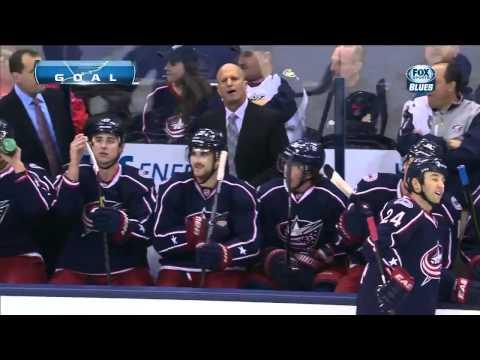 Tarasenko goal #5 - Тарасенко - 5й гол  1/31/13 Blues vs Blue Jackets NHL HOCKEY