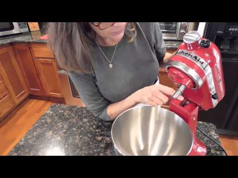 How To Adjust The Beater Blade Height On A Kitchenaid Stand Mixer
