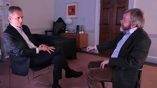 """""""As deep a question as you can possibly ask"""" - Jordan Peterson in conversation with Iain McGilchrist"""