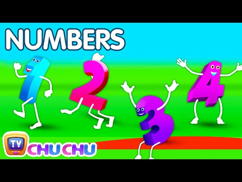 The Numbers Song - Learn To Count From 1 To 10 - Number Rhymes For Children video