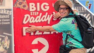 Stepdad Tells Bad Dad Jokes at Venice Beach lol