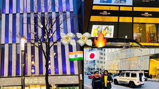 One of the most expensive💸💸 street in the world🔥🔥😱(japan)