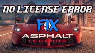 ASPHALT 9 LEGENDS LICENCE ERROR FIX ||100% WORKING||