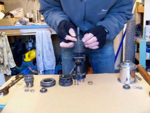 Sturmey Archer hub strip and rebuild