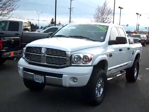 Dodge Ram 2500 Lifted White Sold 2008 Dodge Ram 2500 hd