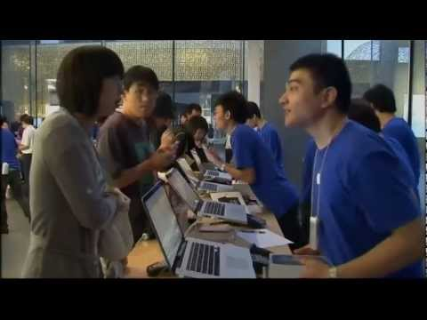 Fake Apple stores found in China