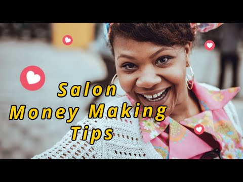 Salon marketing tips how to make more money for your for Salon marketing