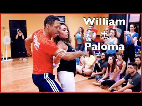 Brazilian Zouk Dance by William Teixeira & Paloma Alves in Atlanta | Master Workshop