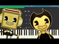 Bendy And The Ink Machine Song The Devil S Swing Fandroid Piano Tutorial Cover mp3