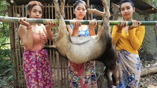 Download Song Yummy cooking BBQ goat grilled recipe - Cooking skill Free StafaMp3
