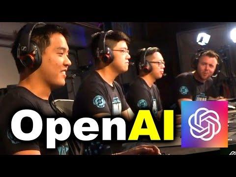 OpenAI vs HUMANS - AI vs 99.95% BEST PLAYERS 5v5 DOTA 2