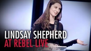 Lindsay Shepherd: The Rebel Live Calgary (Full speech)