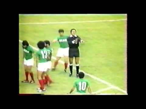 22 July 1976 Iran 2 - Poland 3 1976 Olympic Games in Montreal Group Stage.