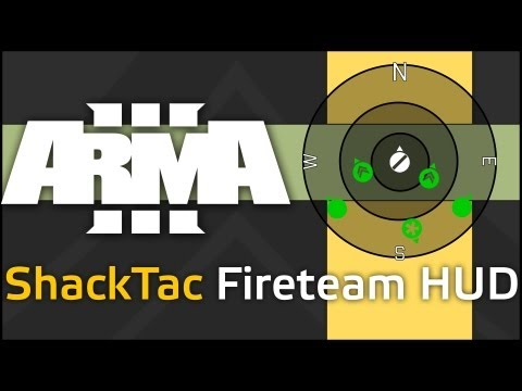 ShackTac Fireteam HUD in Arma 3