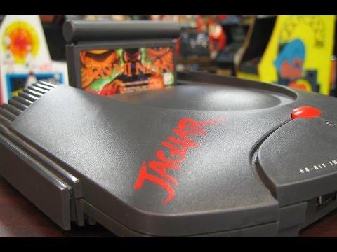 Classic Game Room - ATARI JAGUAR console review!