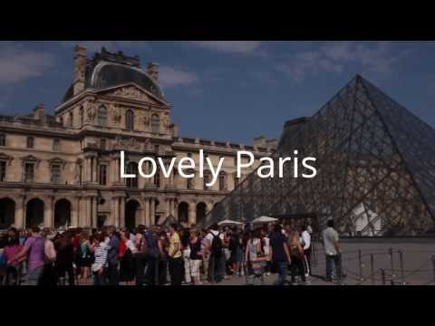 English you can use - My lovely city Paris