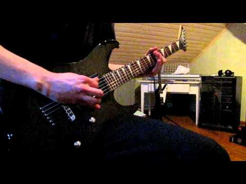 Children of Bodom - Downfall (guitar cover)