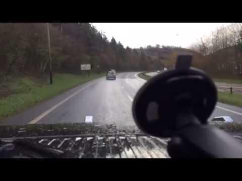 What happens Petrol in a diesel car