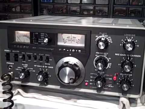 Yaesu FT-101E and FL-2100B SSB Tune Up Procedure