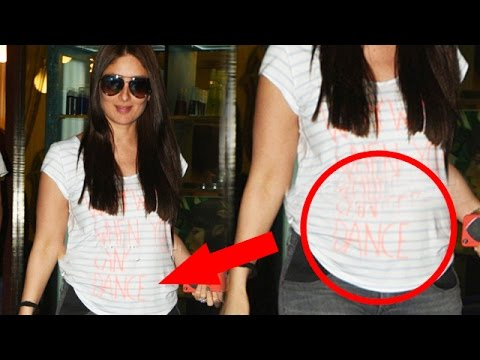 Kareena Kapoor PREGNANT Shows Off Her Growing BABY BUMP