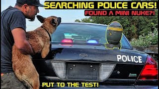 Searching Police Cars! Found Mini Nuke?! Crown Rick Auto