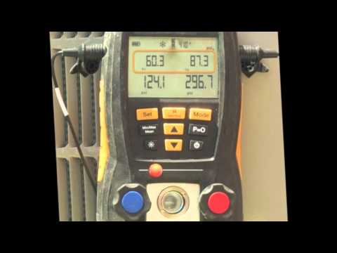 Assessing Refrigerant Charge and Electrical Parameters