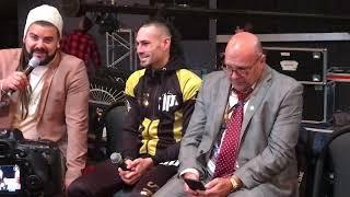 Vasyl Lomachenko Jose Pedraza post fight press conference