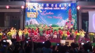 Xứ Tân Mai giáo phận Xuân Lộc - Xuân 2014 - các em thiếu nhi biểu diễn