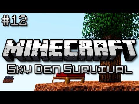 Minecraft: Sky Den Survival Ep. 12 - ENDERMAN PLAGUE