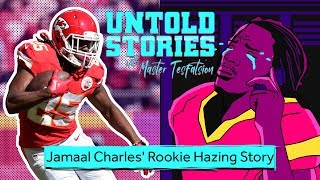 Jamaal Charles Almost Fought Larry Johnson Over Rookie Hazing | Untold Stories