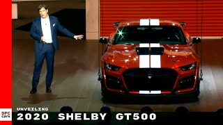 2020 Ford Mustang Shelby GT500 Unveiling
