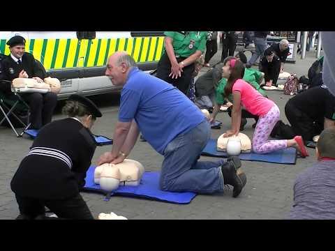 St. John Ambulance Lowestoft- CPR Flash Mob 2014