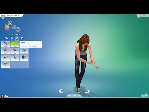 The Sims 4 - Female Teens - CAS - Create A Sim - No Commentary