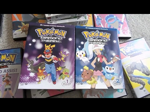 Digging Up Pokemon DVDs