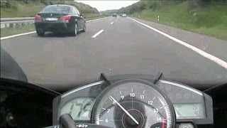 R1 VS BMW and PORSCHE