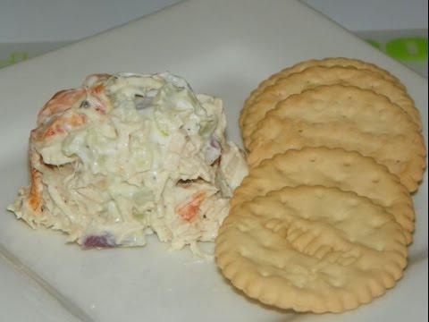 Chicken Salad Featuring Glutino Gluten Free Crackers