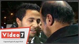 """محمد إبراهيم ورئيس الزمالك الأسبق يشاركان بعزاء """"يوسف محيى"""" بالحامدية الشاذلية"""