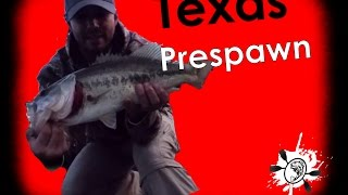 Evening Prespawn Spring Bass Fishing Lake Bob Sandlin