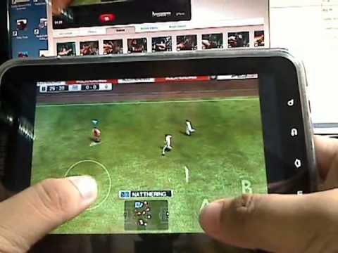 Android Game: Pro Evolution Soccer (PES) 2011 // Winning Eleven 2011