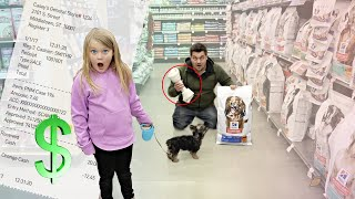 BUYING Whatever our DOG TOUCHES!