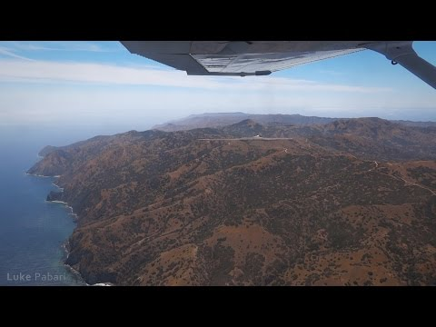 Flying to Catalina Island, Torrance & Fullerton in C172