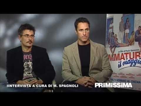 Intervista a Raoul Bova e Paolo Genovese per il film Immaturi – Il viaggio