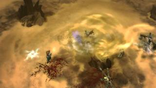 Diablo 3 - Multiplayer-Gameplay-Video (Monk,Wizard,Barbarian, Witch-Doctor - Blizzcon 2009