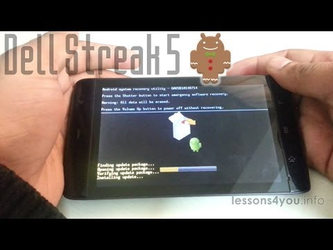 Install Android 2.3.3 on Dell Streak 5