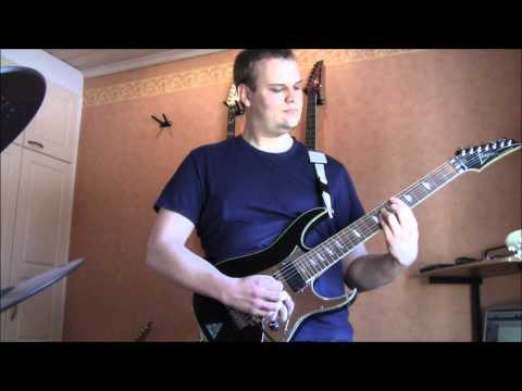 Tears Of A Mandrake (EDGUY cover on a 7-string guitar)