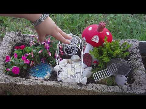 Der Garten im Garten ganz leicht selbst gemacht/ Mini Garten/ Feen Garten