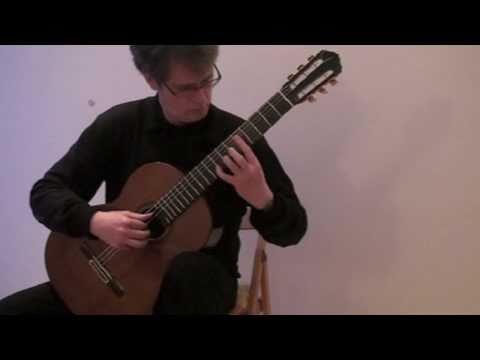 Miguel Llobet: Mazurka, Thomas Müller-Pering, guitar