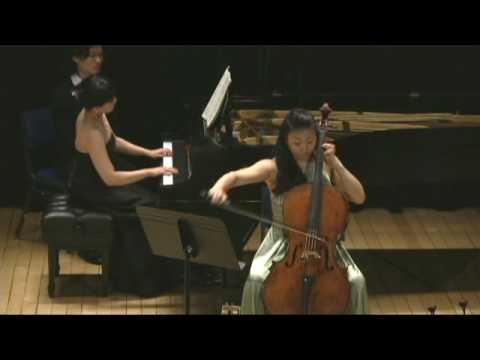 Karen Kang and Hsiao-Ling Lin play Beethoven Variations. PART 1 (Producer Simon)